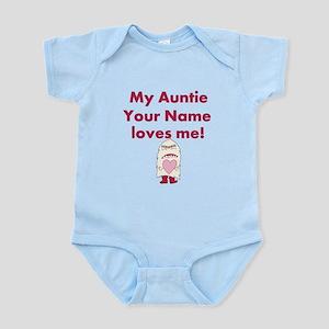 My Auntie Loves Me (Custom) Body Suit