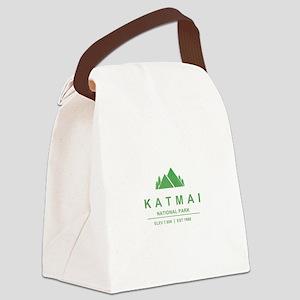 Katmai National Park, Alaska Canvas Lunch Bag