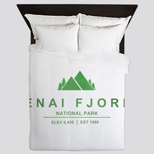 Kenai Fjords National Park, Alaska Queen Duvet