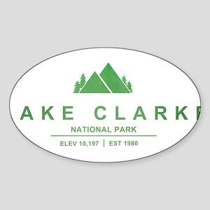 Lake Clark National Park, Alaska Sticker