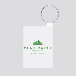 Mount Rainier National Park, Washington Keychains