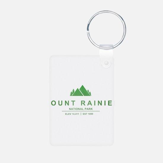 Mount Rainier National Park, Washington Keychains