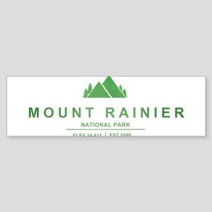 Mount Rainier National Park, Washington Bumper Sti