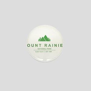 Mount Rainier National Park, Washington Mini Butto