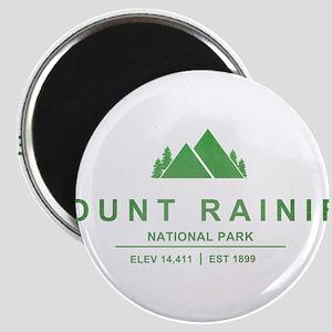 Mount Rainier National Park, Washington Magnets
