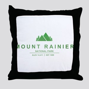 Mount Rainier National Park, Washington Throw Pill