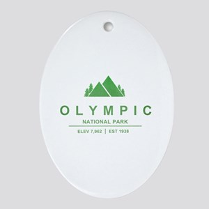 Olympic National Park, Washington Ornament (Oval)