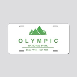 Olympic National Park, Washington Aluminum License
