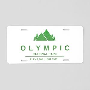 Olympic National Park, Washington Aluminum License