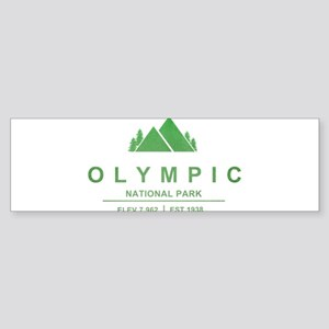 Olympic National Park, Washington Bumper Sticker