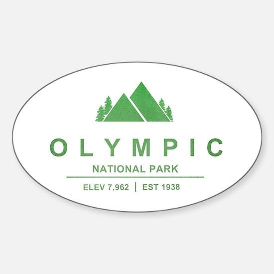 Olympic National Park, Washington Decal