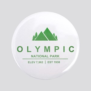 "Olympic National Park, Washington 3.5"" Button"
