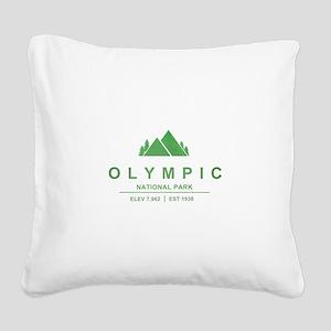 Olympic National Park, Washington Square Canvas Pi
