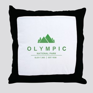 Olympic National Park, Washington Throw Pillow