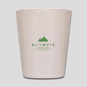 Olympic National Park, Washington Shot Glass