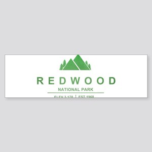 RedWood National Park, California Bumper Sticker