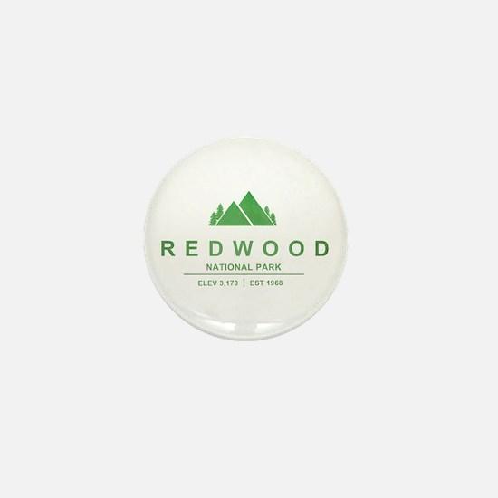 RedWood National Park, California Mini Button