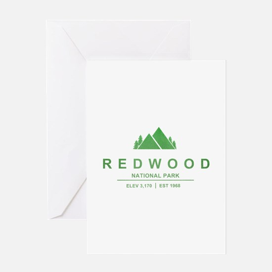 RedWood National Park, California Greeting Cards