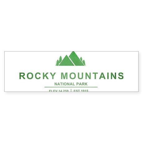 Rocky Mountains National Park, Colorado Bumper Sti