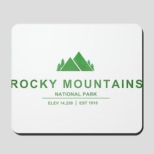 Rocky Mountains National Park, Colorado Mousepad