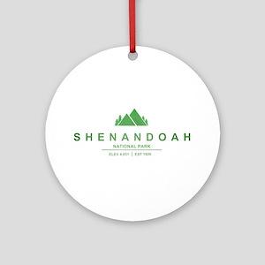 Shenandoah National Park, Virginia Ornament (Round