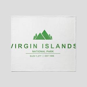 Virgin Islands National Park, Virgin Islands Throw