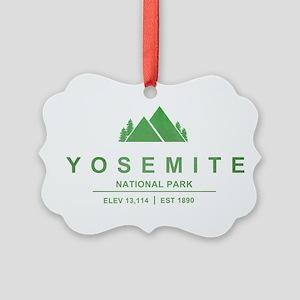 Yosemite National Park, California Ornament