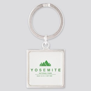 Yosemite National Park, California Keychains