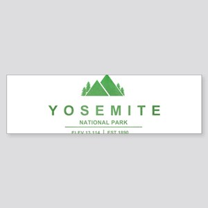 Yosemite National Park, California Bumper Sticker