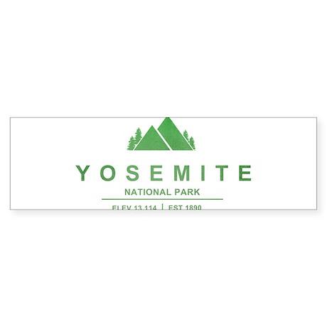 Yosemite National Park, California Bumper Sticker