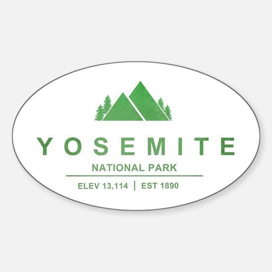 Yosemite National Park, California Decal