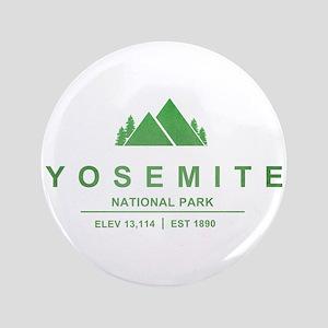 "Yosemite National Park, California 3.5"" Button"