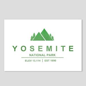 Yosemite National Park, California Postcards (Pack