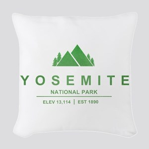 Yosemite National Park, California Woven Throw Pil