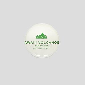 Hawaii Volcanoes National Park, Hawaii Mini Button