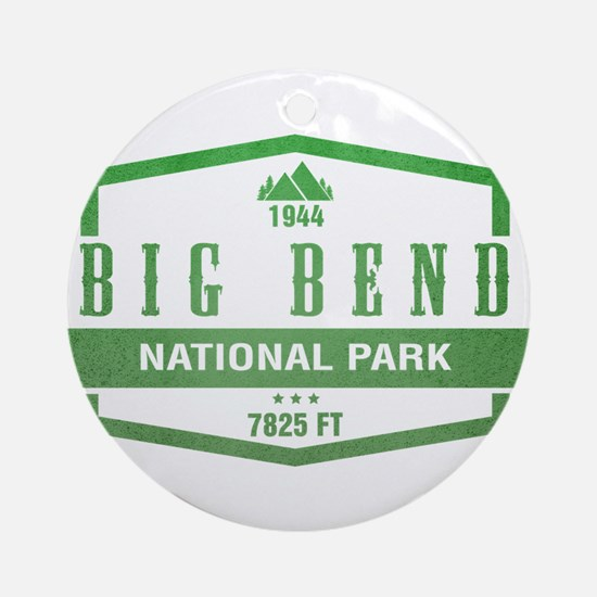 Big Bend National Park, Texas Ornament (Round)