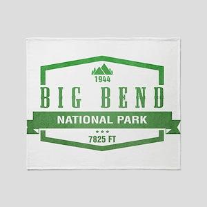 Big Bend National Park, Texas Throw Blanket