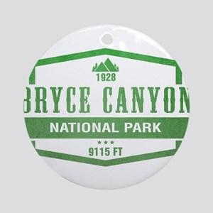 Bryce Canyon National Park, Utah Ornament (Round)