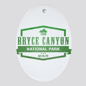 Bryce Canyon National Park, Utah Ornament (Oval)