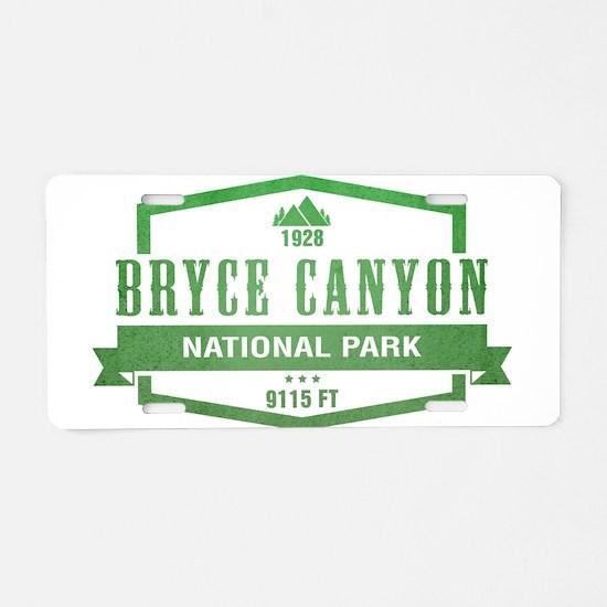 Bryce Canyon National Park, Utah Aluminum License