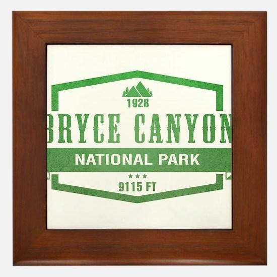 Bryce Canyon National Park, Utah Framed Tile