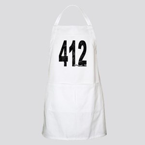 Distressed Pittsburgh 412 Apron