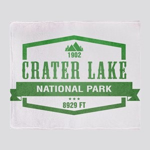 Crater Lake National Park, Oregon Throw Blanket