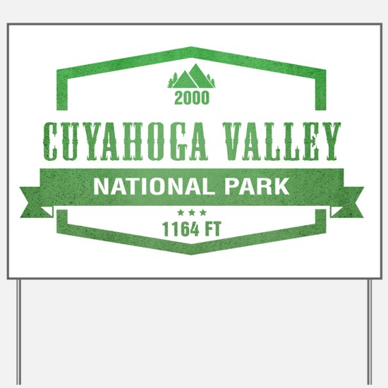 Cuyahoga Valley National Park, Ohio Yard Sign