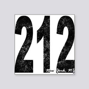 Distressed New York 212 Sticker