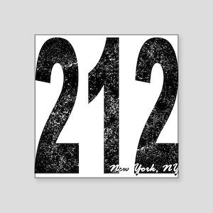 Distressed New York 212 Sticker