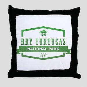 Dry Tortugas National Park, Florida Throw Pillow