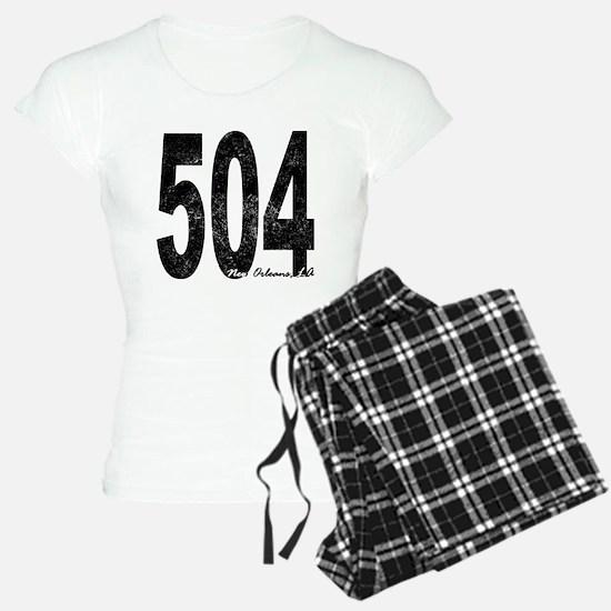 Distressed New Orleans 504 Pajamas