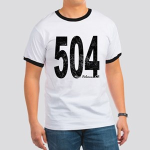 Distressed New Orleans 504 T-Shirt