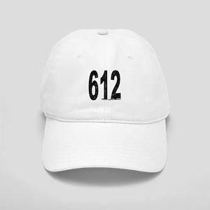Distressed Minneapolis 612 Baseball Cap
